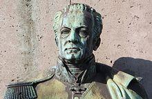 Staatskanzler Hardenberg am Reiterdenkmal für FW III (Preußen), Heumarkt Köln (Quelle: Wikimedia)