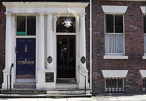 Rodney Street, Liverpool - E. Chambré Hardman's studio at 59 Rodney Street