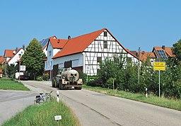 Hardt Schönbühlhof Ortseingang