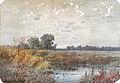 Harpignies HJ attr. - Watercolour - Lande aux environs de Saint-Privé - 24.5x17cm.jpg