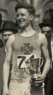 Harry Smith (athlete) American long-distance runner, 1888