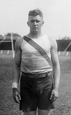 Harry B. Liversedge - Liversedge at the selection for the 1919 Inter-Allied Games