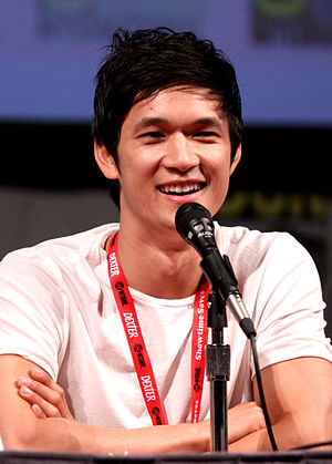 English: Harry Shum, Jr. at the 2011 Comic Con...