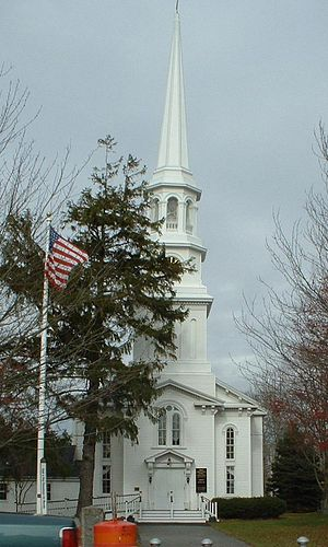 Harwich, Massachusetts - The First Congregational Church of Harwich, in Harwich Center