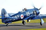 Hawker Sea Fury - Duxford March 2016 (25132313423).jpg