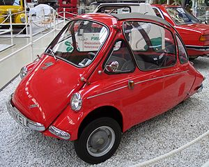 Bubble car - Heinkel Kabine