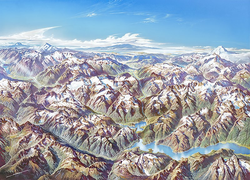 File:Heinrich Berann NPS Panorama of North Cascades without labels.jpg