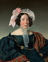 Brustbild einer Wiener Bürgersfrau