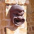 Hellenistic gargoyle replica, Yasmine Hammamet, Tunisia.jpg