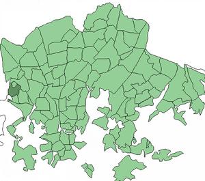 Tali, Helsinki - Image: Helsinki districts Tali