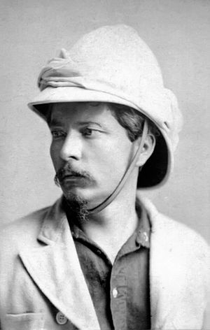 Congo Free State - Henry Morton Stanley, whose exploration of the Congo region at Leopold's invitation led to the establishment of the Congo Free State under personal sovereignty
