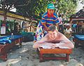 Here is a man massaged on Bali in Indonesia.jpg