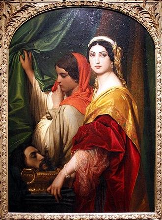 Herodias - Herodias, by Paul Delaroche