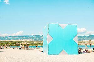Hideout Festival - Image: Hideout Festival, Zrće Beach