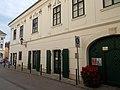 Hiemer-house. Listed ID 3934. Rococo-baroque corner building. - 1, Jókai street, Városház Sq., Downtown, Székesfehérvár, Fejér county, Hungary.JPG