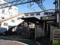 Higashi-matsubara sta. west entrance.jpg