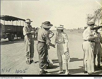 Hilda Abbott - Mrs C. L. A. (Hilda) Abbott, wife of the Administrator of the Northern Territory