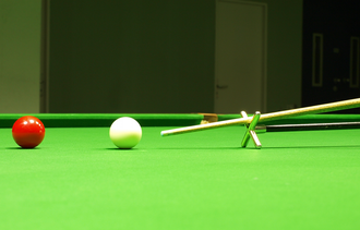Glossary of cue sports terms - Cross rake