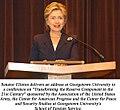 Hillary speaks at Georgetown in 2004.jpg