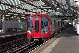 Hillingdon tube station MMB 12 S Stock