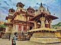 Hindu Temple near Amer Jaipur.jpg