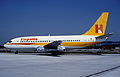 Hispania Boeing 737-2K2; EC-DVN; April 1985 AFP (4994431800).jpg