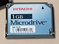 Hitachi 1GB Microdrive sold from Weikeng Industrial 20080327 (cropped).jpg