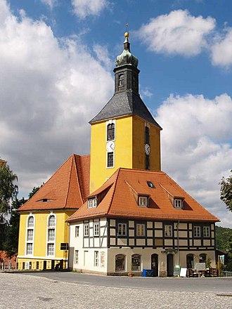 George Bähr - Image: Hohnstein Kirche