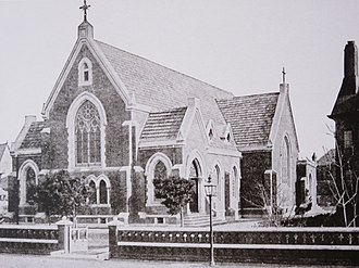Rikkyo University - Holy Trinity Cathedral, Tsukiji, temporary home for the college after the 1894 earthquake