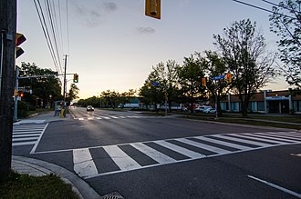 Alderwood, Toronto - View of Alderwood from Horner Avenue and Beta Street