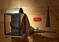 Horns and Headlight from C and O Canal boat Museum.jpg