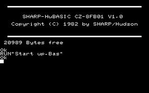 X1 (computer) - Image: Hu BASIC X1