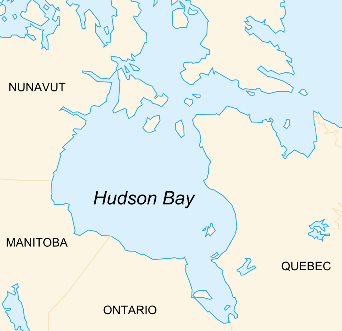 Hudsonbukta Wikipedia