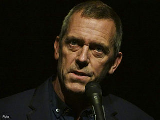 Hugh Laurie, English actor