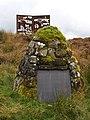 Hugh MacDiarmid Memorial Cairn and Sculpture - geograph.org.uk - 1003612.jpg