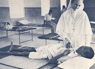 Salesian Sisters of Don Bosco - Image: Hunger and sickness Madras