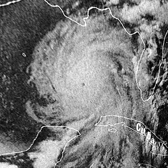Hurricane Camille - Image: Hurricane Camille 16 aug 1969 2340Z