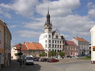 Hustopeče Town in South Moravian, Czech Republic
