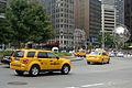 Hybrid taxis NYC 07 2010 9752.JPG