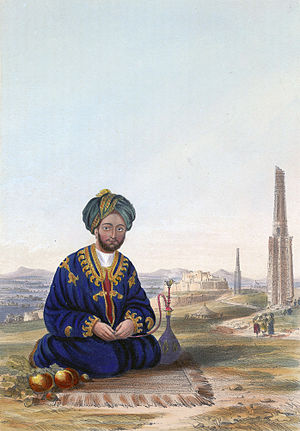 Battle of Ghazni - Ghulam Hyder Khan of Ghazni.