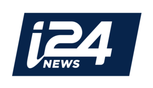 I24NEWS (United States) - Image: I24 logo FINAL BLUE 02