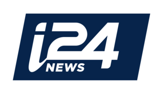 I24NEWS (United States) - Image: I24 logo FINAL BLUE 02