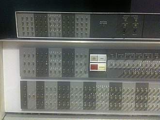 Index register - Index register display on an IBM 7094 mainframe from the early 1960s.