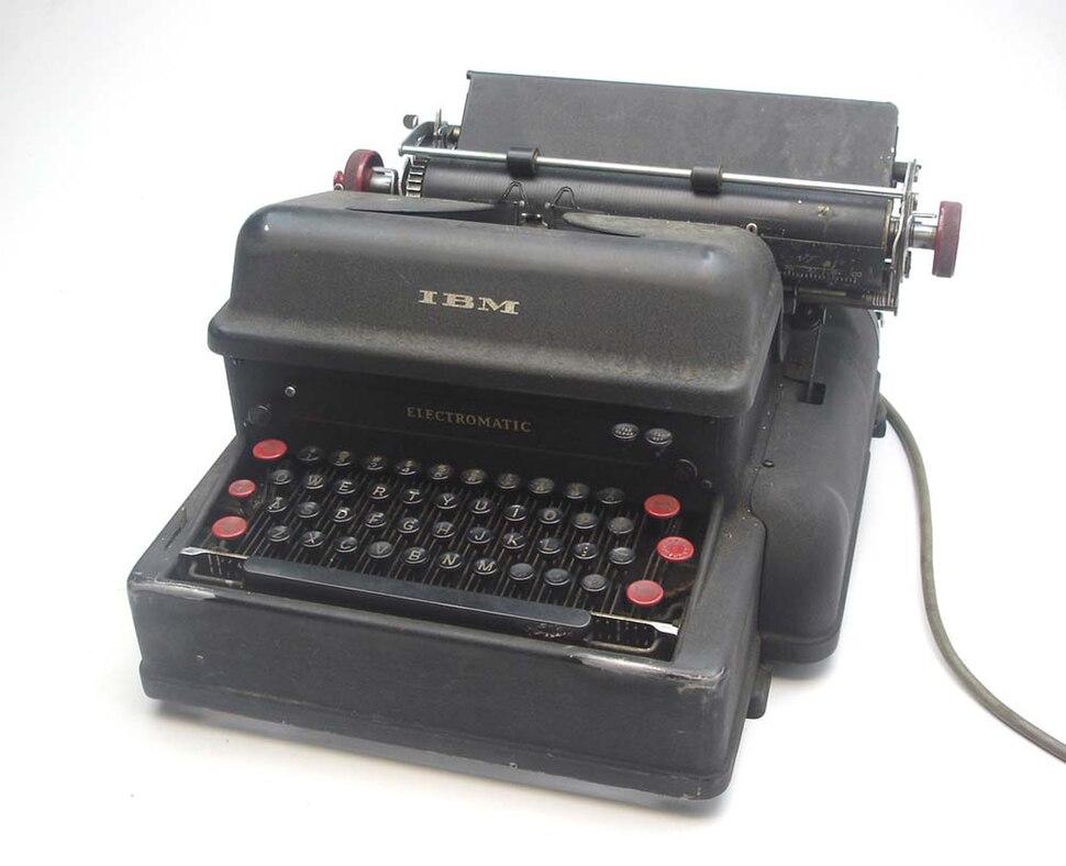 IBM Electromatic typewriter