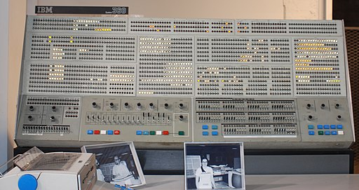 IBM Model 91 Front Panel