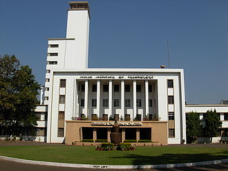Higher education in India - Institute Main Building of the Indian Institute of Technology Kharagpur (IIT KGP) in the city of Kharagpur (West Bengal)