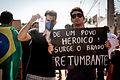 II Ato de Manifestação Contra a corrupção e violência Cuiabá (MT) 16-06-2013.jpg