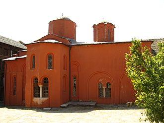 Xenophontos monastery - Image: IMG 1035 20070424 xenophontos monastery