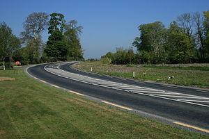 N52 road (Ireland) -  N52 south of Mullingar - bypassed in 2007