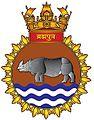 INS Brahmaputra emblem.JPG